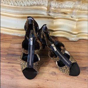 Michael Kors New Leopard Brown Heels